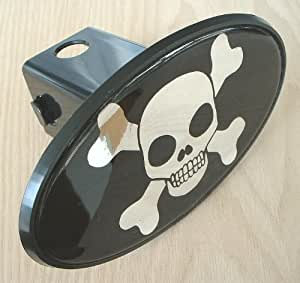 Amazon.com: Skull and Crossbones Trailer Hitch Cover