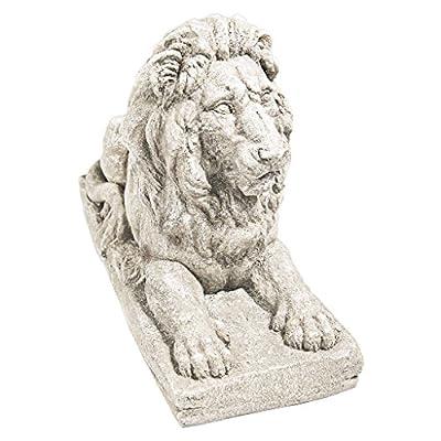 Design Toscano Lyndhurst Manor Lion Sentinel Statue: Set of Two