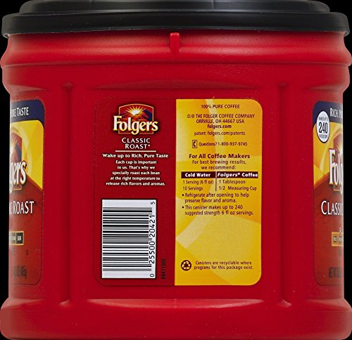 Review Folgers Classic Roast Ground