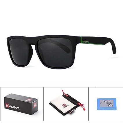 KOMNY Gafas de Sol del Tipo de la Moda de Kdeam Polarized ...