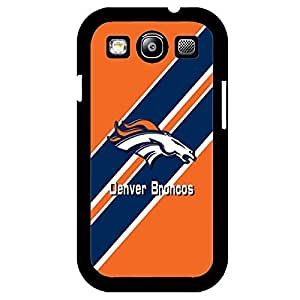 Samsung Galaxy S3 Case Chevron NFL Denver Broncos Football Team Logo Sports Design Hard Plastic Unique Protection Accessories Case Cover for Men
