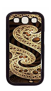 Custom Cover Case with Hard Shell Protection phone case for samsung galaxy s3 - abstract art 1