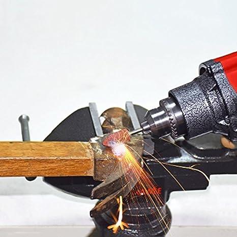 TOOGOO 32000RPM 240W Mini Taladro Amoladora Electrica Muere Amoladora Mas Poder Completo Fuerte Taladro Electrico Piedra Herramientas de Abrasivo de Metal Ceramico ENCHUFE DE LA UE
