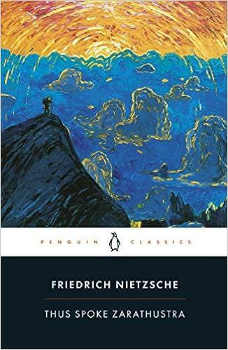 Thus Spoke Zarathustra: A Book