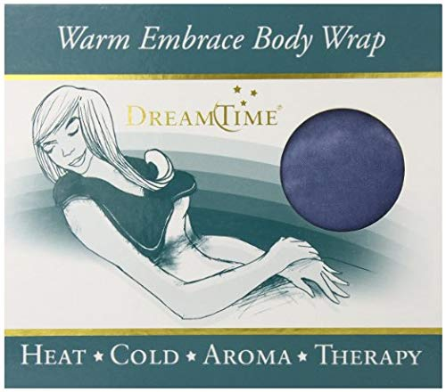 DreamTime Warm Embrace Body Wrap, Larkspur Blue