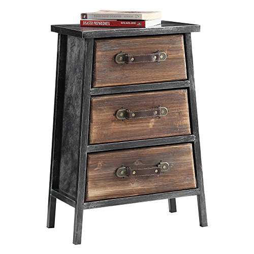 4D Concepts 3-Drawer Chest - 4d Concepts Furniture
