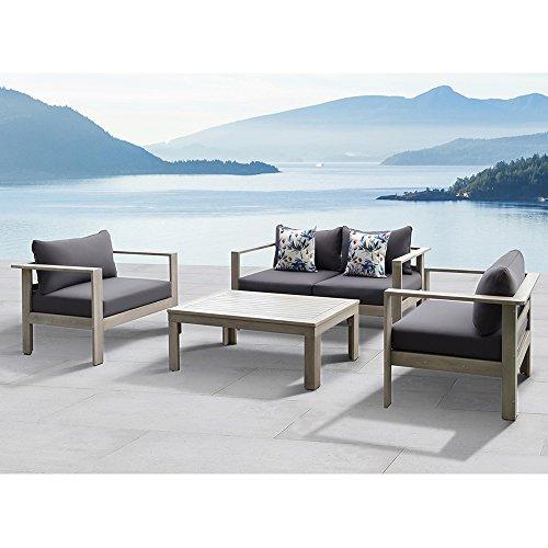 Price comparison product image Gueliz 4-piece outdoor conversation patio set