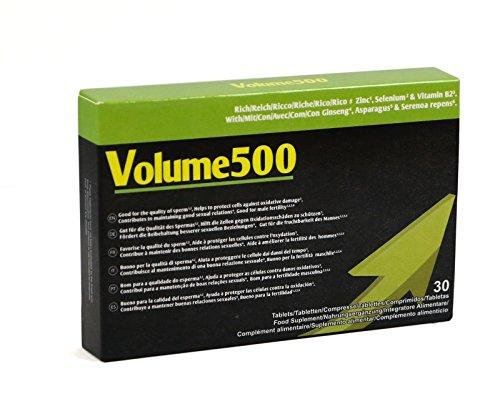 Volume500: les Pilules pour l'amélioration de la qualité et de la quantité de sperme par Volume de 500