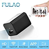 Product review for FULAO 1080P Spy Hidden Mini Wall Charger Surveillance Cam Wifi Wireless Portable Security Vedio Recorder Remote Camera
