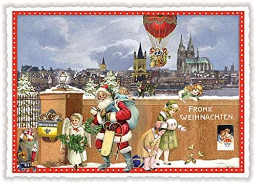 Palazzo Int tarjeta de Navidad * Navidad en Colonia: Amazon.es: Oficina y papelería
