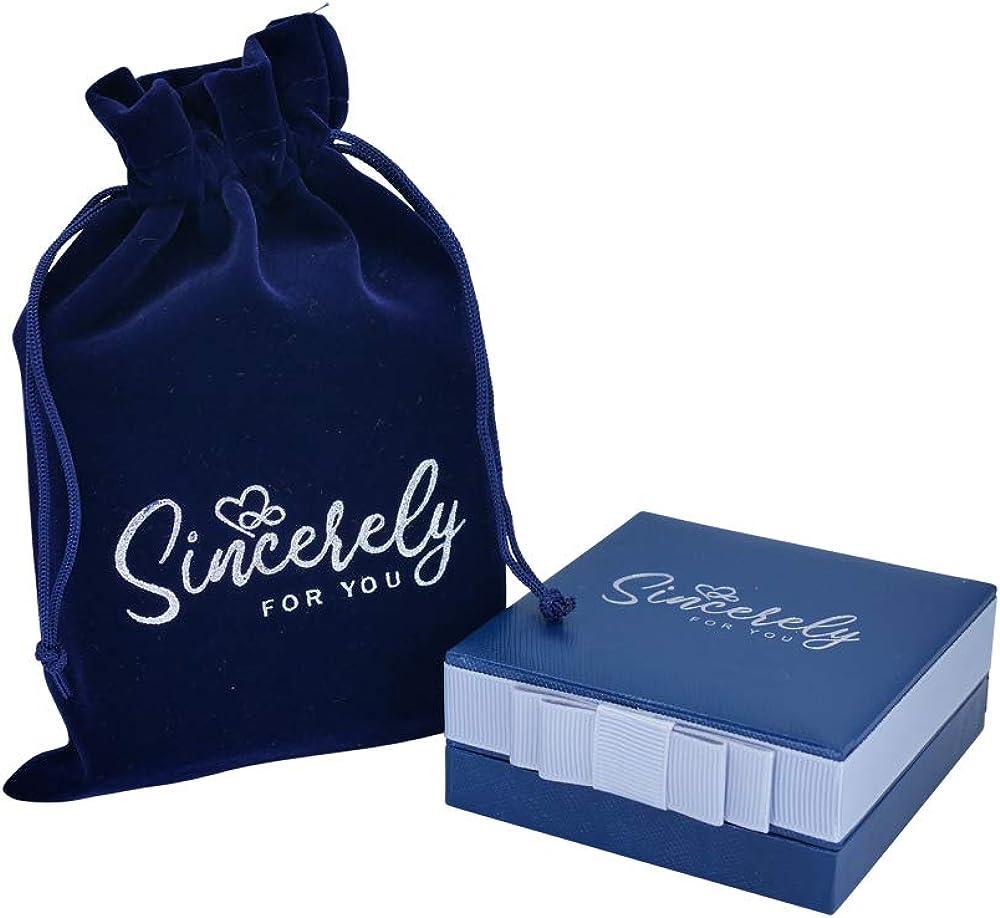 Sincerelyforyou Elephant Lucky Charm Brooch Good Luck Boxed Set Christmas Birthday Gifts for Mum Teacher Daughter Friend