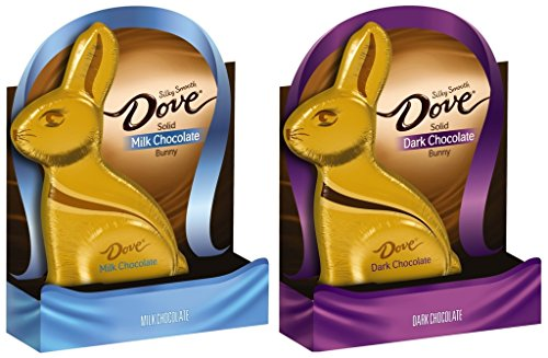 Dove Silky Smooth Chocolate Solid Easter Bunny - 2 ct. - 1 M