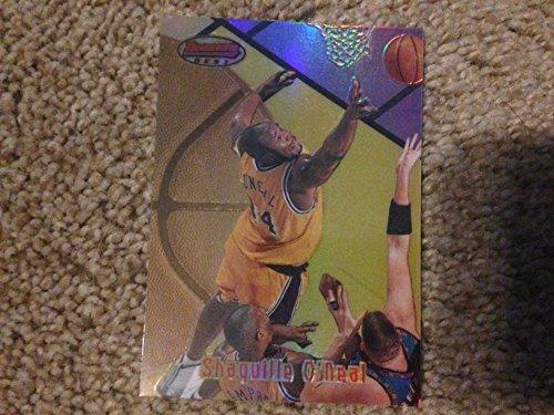 1997-1998 NBA Topps Bowman's Best Shaquille O'Neal SHAQ Refractor Card # 28R! Miami Heat, Cleveland Cavaliers, Orlando Magic, Los Angels Lakers, Boston Celtics, Phoenix Suns