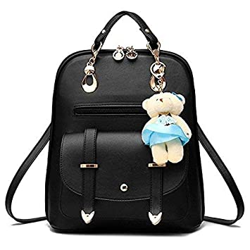 Redlicchi Stylish Girl Ladies Backpack Handbag Casual Backpack School  Collage Bag (Black)  Amazon.in  Bags a7db0e6df33b3