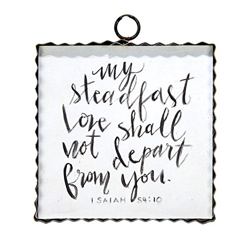 The Round Top Collection Gallery Isaiah 54:10 Sign/Metal & (Round Top Collection Metal Art)
