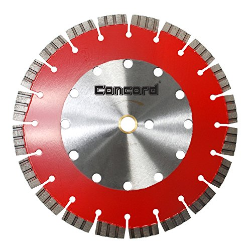 Concord Blades LHS140C15SP 14 Inch General Purpose High Speed Laser Welded Diamond Blade with Turbo Segments (0.125' Light)