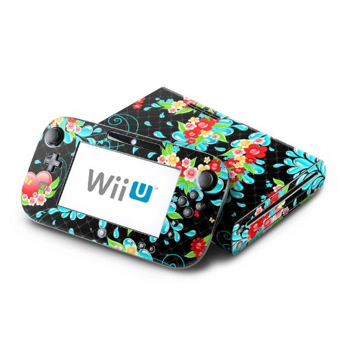 Betty Design Protective Decal Skin Sticker (High Gloss Coating) for Nintendo Wii U Console + Controller Device (Set)