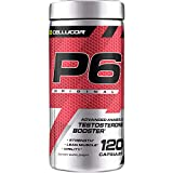 Cellucor P6 Original Testosterone Booster for Men, Build Advanced Anabolic Strength & Lean Muscle, Boost Energy Performance, Increase Virility Support, 120 Capsules