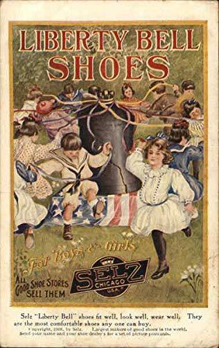 Illinois Bell (Liberty Bell Shoes Chicago, Illinois Original Vintage Postcard)