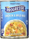 chicken and rice soup - Progresso Soup, Traditional, Chicken and Wild Rice Soup, 19 oz Cans (Pack of 12)