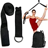Leg Stretcher, Door Flexibility & Stretching Leg Strap, Stretch Strap with Door Anchor to Improve Leg Stretching - Door Flexibility Trainer with Carrying Pouch for Cheer, Ballet, Dance