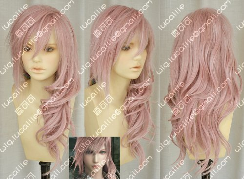 Cosplay wig FF13 Final Fantasy XIII (FINAL FANTASY XIII) Lightning wind costume (japan import) by (Lightning Final Fantasy Costume)