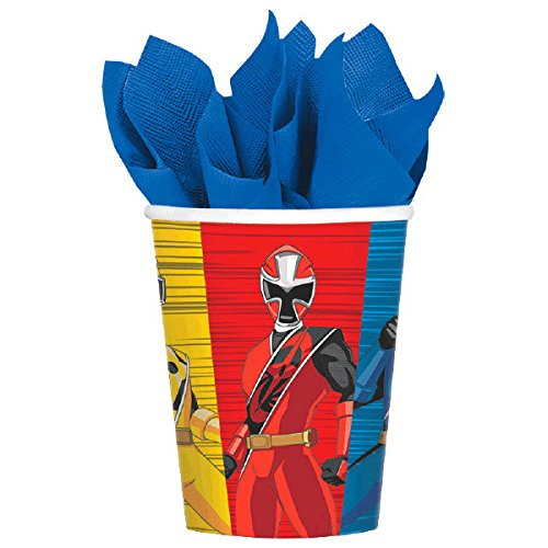 Power Rangers 4th Birthday Party Supplies 8 Guest Decoration Kit and Balloon Bouquet by Power Rangers (Image #7)