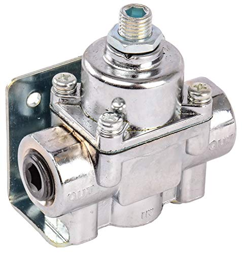 JEGS 15912 Fuel Pressure Regulator Gasoline 4.5 to 9 -