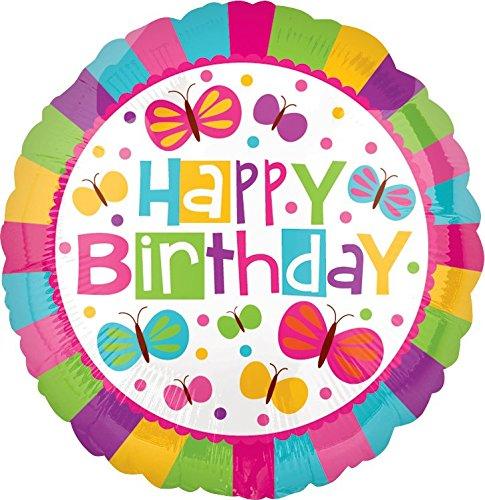 Happy Butterfly Balloons Birthday (Happy Birthday Butterflies 17