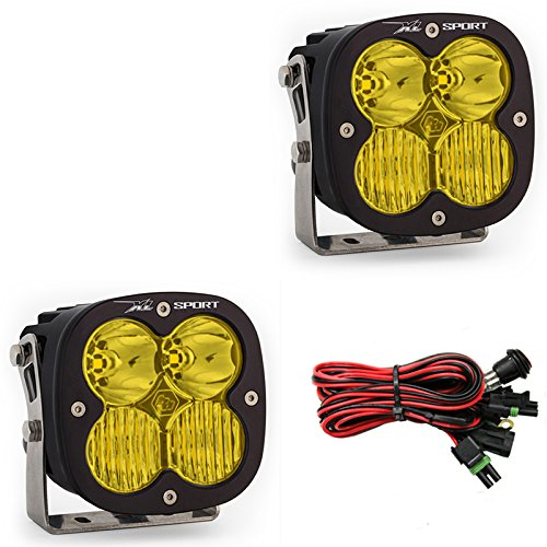 Baja Designs UTV XL Sport Pair Driving Combo Lights Amber
