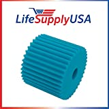 LifeSupplyUSA Central Vacuum Foam Filter Replacement Filter Electrolux Centralux Blue