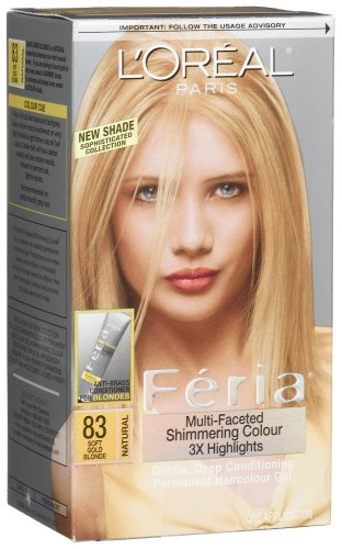 Amazon.com : L'oreal Feria #83 Sunflower Blonde, : Chemical Hair ...