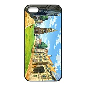 Professor Layton vs. Phoeni Wright Ace Attorney iPhone 5 5s Cell Phone Case Black xlb2-235022