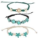 Turtle Starfish Howlite Bracelet or Anklet Set | - Best Reviews Guide