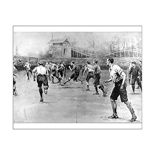 10x8 Print of Nottingham Forest vs. Derby County F.A. Cup Final, 1898 (4377428)