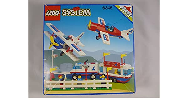 Amazon com: Lego System Aerial Acrobats Set 6345: Toys & Games