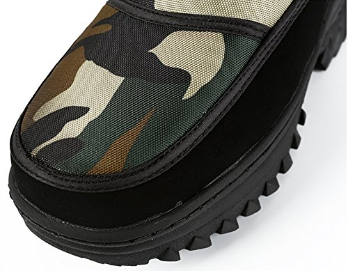 Outdoor Men's Slip On Shoes Snow Lined Waterproof Camouflage Boots Duberess Winter Fur 0xTpApw