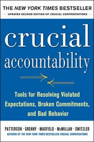 Picture of a Crucial Accountability Tools for Resolving 9780071829311
