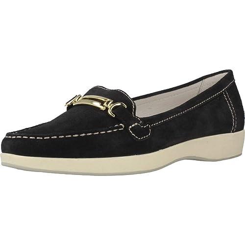 Mocasines para mujer, color Negro , marca STONEFLY, modelo Mocasines Para Mujer STONEFLY ML574 UTA Negro: Amazon.es: Zapatos y complementos