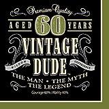 Creative Converting Vintage Dude 60th Birthday