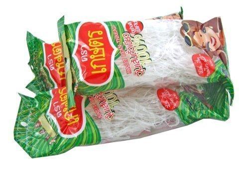 Kaset Brand Thai Bean Thread Glass Noodles - 4.2 oz (3 - Brands Glasses