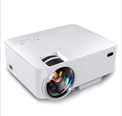 MOOMDDY Proyector de la Oficina, proyector casero de HD del LED ...