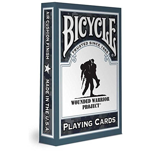 Bicycle Wounded Warrior Playing Cards - Soldiers Playing Cards