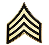 US Army Sergeant E-5 Hat or Lapel Pin H14426D2