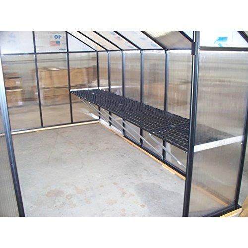 Greenhouse Work Bench System Size: 24′ W