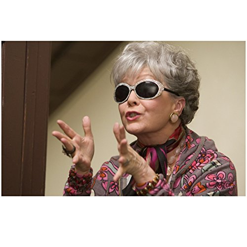 One for the Money (2012) 8 inch x 10 inch Photo Debbie Reynolds Gesturing Excitedly in Sunglasses - Sunglasses Reynolds