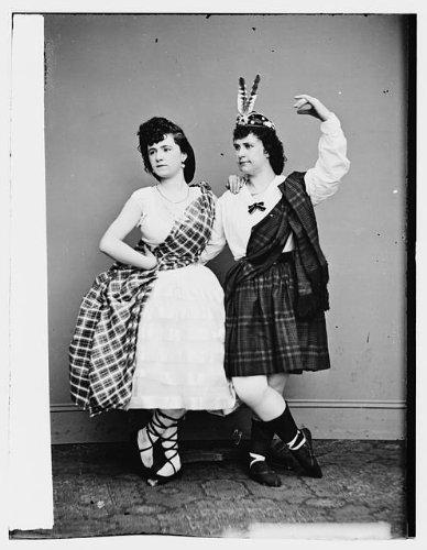 Photo: Laura Le Claire,Lottie Forbes,women,costumes,clothing,portrait photo,1855 1 (Portrait Of A Lady Movie Costumes)