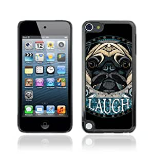 Designer Depo Hard Protection Case for Apple iPod Touch 5 / Awesome Pug Dog Art Tattoo