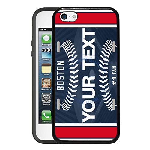 - BRGiftShop Customize Your Own Baseball Team Boston Rubber Phone Case for Apple iPod Touch 5th & 6th Generation