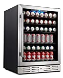 "Best Beverage Coolers - Kalamera 24"" Beverage Refrigerator 175 Can Built-in or Review"